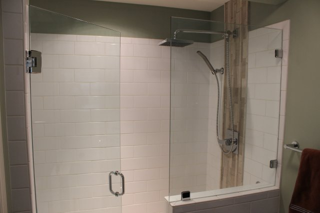 Winston Salem Tile Shower Remodeling