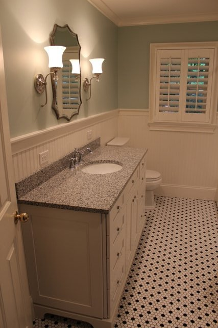 Bathroom remodel before after century homes and for Bath remodel winston salem
