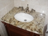Bathroom Cabinet and Granite
